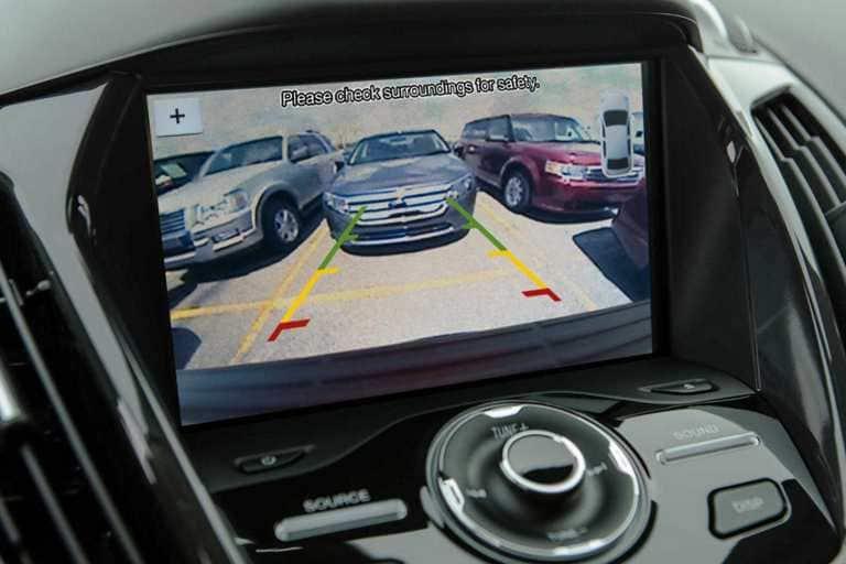 Standard Rear View Camera