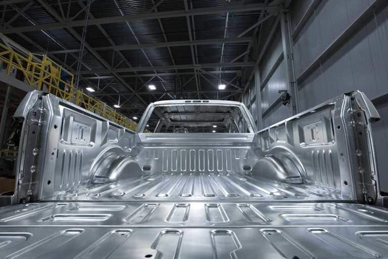 Aluminum alloy body