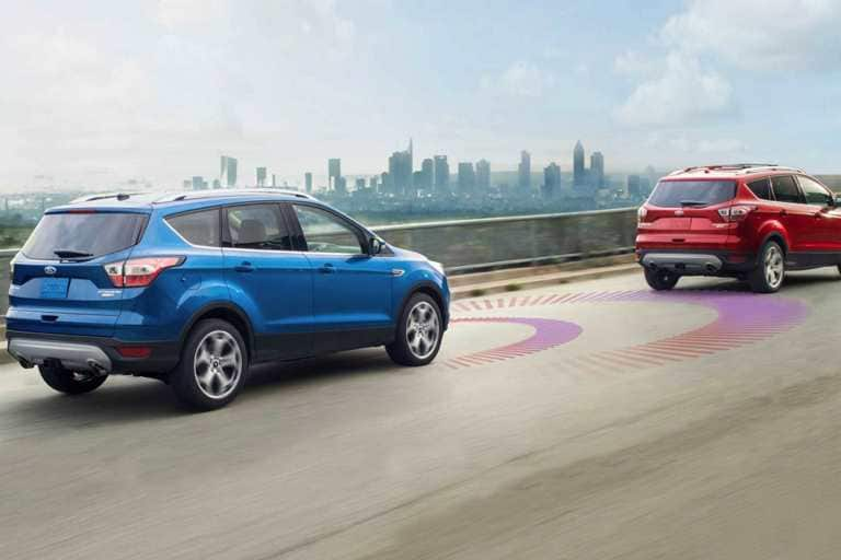 Available Adaptive Cruise Control and Forward Collision Warning with Brake Support